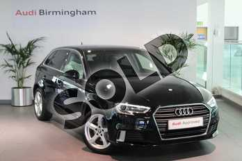 Audi A3 1.0 TFSI Sport 5dr in Brilliant Black at Birmingham Audi