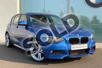 BMW 1 Series 116i M Sport 5dr in Estoril Blue at Listers King's Lynn (BMW)