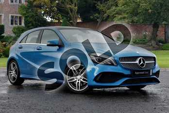 Mercedes-Benz A Class A220d AMG Line Premium Plus 5dr Auto in Metallic - Cavansite blue at Listers Toyota Boston