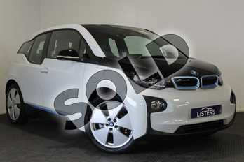BMW I3 125kW Range Extender 33kWh 5dr Auto in Solid - Capparis white at Listers U Stratford-upon-Avon