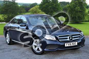 Mercedes-Benz E Class E220d SE 4dr 9G-Tronic in Cavansite Blue Metallic at Mercedes-Benz of Grimsby