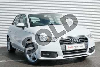 Audi A1 1.4 TFSI Sport 5dr in Glacier White Metallic at Coventry Audi