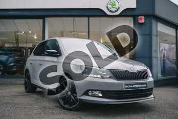 Skoda Fabia 1.0 TSI 110 Monte Carlo 5dr in Meteor Grey at Listers ŠKODA Coventry