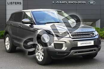 Range Rover Evoque 2.0 TD4 SE 5dr in Corris Grey at Listers Land Rover Droitwich