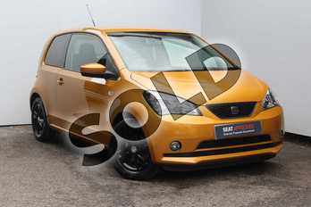 SEAT Mii 1.0 75 Sport 3dr in Yellow at Listers SEAT Worcester