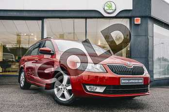 Skoda Octavia 2.0 TDI CR Tour de France 4x4 5dr in Rio Red at Listers ŠKODA Coventry