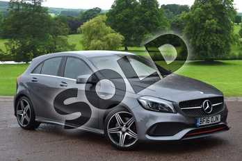 Mercedes-Benz A Class A250 AMG 5dr Auto in Mountain Grey at Mercedes-Benz of Grimsby