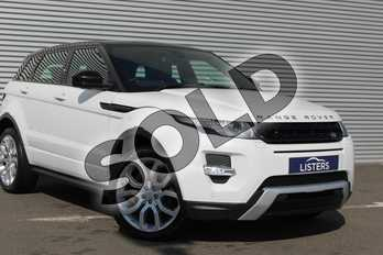 Range Rover Evoque 2.2 SD4 Dynamic 5dr Auto (9) in Metallic - Yulong white at Coventry Audi