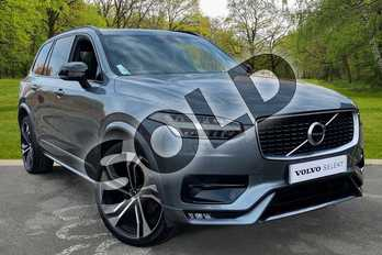 Volvo XC90 2.0 B5D (235) R DESIGN Pro 5dr AWD Geartronic in Osmium Grey at Listers Volvo Worcester
