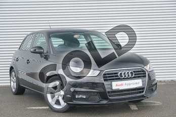 Audi A1 1.0 TFSI Sport 5dr in Brilliant black at Coventry Audi