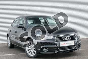 Audi A1 1.2 TFSI Sport 5dr in Brilliant Black at Coventry Audi
