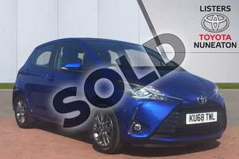 Toyota Yaris 1.5 VVT-i Icon 5dr in Blue at Listers Toyota Nuneaton