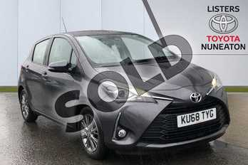 Toyota Yaris 1.5 VVT-i Icon 5dr in Grey at Listers Toyota Nuneaton