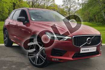 Volvo XC60 2.0 B5D R DESIGN Pro 5dr AWD Geartronic in Fusion Red at Listers Volvo Worcester