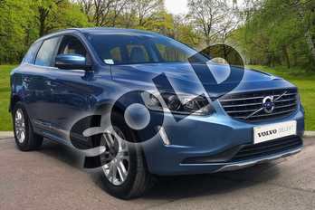Volvo XC60 D5 (220) SE Lux Nav 5dr AWD in Power Blue at Listers Volvo Worcester