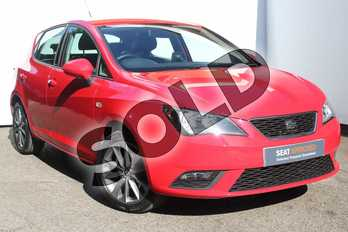 SEAT Ibiza 1.2 TSI I TECH 5dr in Red at Listers SEAT Worcester
