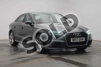 Audi A3 1.4 TFSI S Line 4dr in Daytona Grey Pearlescent at Birmingham Audi