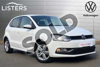 Volkswagen Polo 1.2 TSI Match Edition 5dr in Pure white at Listers Volkswagen Coventry