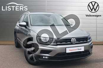 Volkswagen Tiguan 1.4 TSI 125 SE Nav 5dr in Tungsten Silver at Listers Volkswagen Loughborough