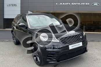 Range Rover Velar 2.0 D180 R-Dynamic S 5dr Auto in Santorini Black at Listers Land Rover Hereford
