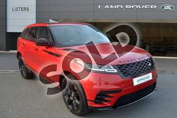 Range Rover Velar 2.0 D180 R-Dynamic S 5dr Auto in Firenze Red at Listers Land Rover Hereford