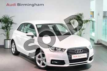 Audi A1 1.4 TFSI Sport 3dr in Glacier White Metallic at Birmingham Audi