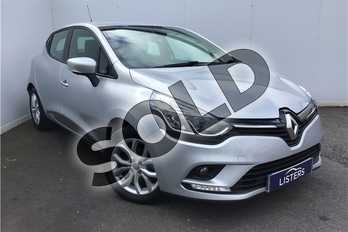 Renault Clio 1.2 16V Dynamique Nav 5dr in Metallic - Mercury at Listers U Solihull