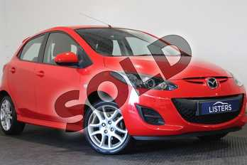 Mazda 2 1.3 Tamura 5dr in Mica - Zeal red at Listers U Stratford-upon-Avon