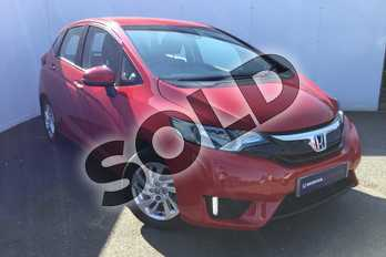 Honda Jazz 1.3 SE 5dr in Milano Red at Listers Honda Solihull