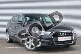 Audi A3 1.5 TFSI Sport 5dr in Brilliant Black at Coventry Audi