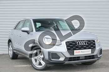 Audi Q2 1.0 TFSI Sport 5dr in Floret Silver Metallic at Coventry Audi