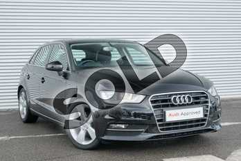 Audi A3 2.0 TDI Sport 5dr in Brilliant Black at Coventry Audi