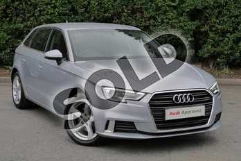 Audi A3 1.5 TFSI Sport 5dr in Floret Silver Metallic at Worcester Audi