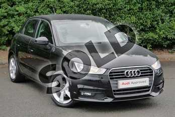 Audi A1 1.0 TFSI Sport 5dr in Brilliant Black at Worcester Audi