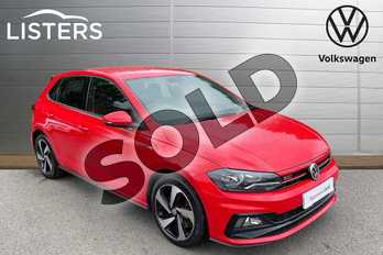 Volkswagen Polo 2.0 TSI GTI 5dr DSG in Flash Red at Listers Volkswagen Coventry