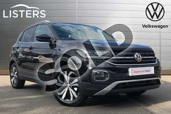 Volkswagen T-Cross 1.0 TSI 115 SE 5dr in Deep Black at Listers Volkswagen Coventry