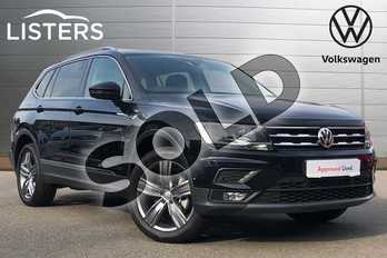 Volkswagen Tiguan Allspace 2.0 TDI Match 5dr in Deep black at Listers Volkswagen Coventry