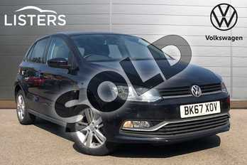 Volkswagen Polo 1.2 TSI Match Edition 5dr in Deep black at Listers Volkswagen Coventry