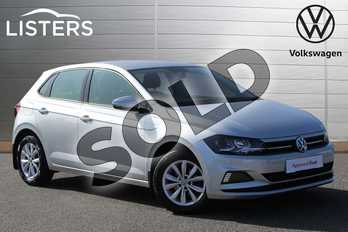 Volkswagen Polo 1.0 75 SE 5dr in Reflex silver at Listers Volkswagen Nuneaton