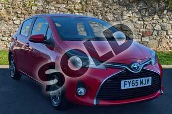 Toyota Yaris 1.5 Hybrid Icon 5dr CVT in Chilli Red at Listers Toyota Grantham