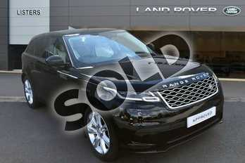 Range Rover Velar 3.0 D300 SE 5dr Auto in Santorini Black at Listers Land Rover Hereford