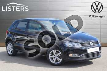 Volkswagen Polo 1.0 75 Match 5dr in Flat Black at Listers Volkswagen Nuneaton