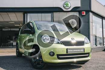 Skoda Citigo 1.0 MPI Colour Edition 5dr in Spring Green Metallic at Listers ŠKODA Coventry