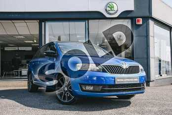 Skoda Rapid Spaceback 1.2 TSI 110 SE Sport 5dr in Race Blue at Listers ŠKODA Coventry