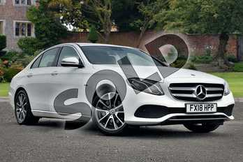 Mercedes-Benz E Class E350e SE 4dr 9G-Tronic in Polar White at Mercedes-Benz of Lincoln