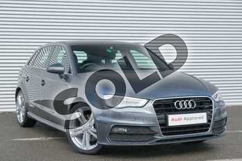 Audi A3 1.8 TFSI S Line 5dr in Daytona Grey, pearl effect at Coventry Audi