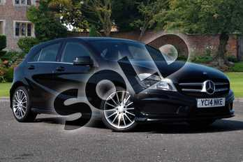 Mercedes-Benz A Class A180 CDI BlueEFFICIENCY AMG Sport 5dr in Cosmos Black at Mercedes-Benz of Lincoln