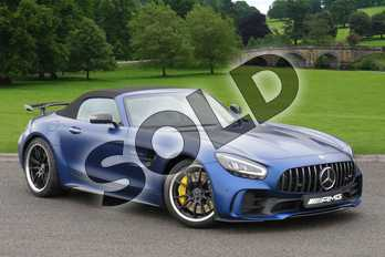 Mercedes-Benz AMG GT GT R 2dr Auto in designo Brilliant Blue Magno at Mercedes-Benz of Lincoln