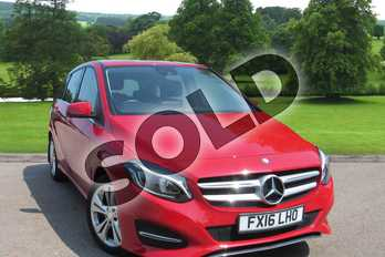 Mercedes-Benz B Class B200 Sport Premium 5dr Auto in Jupiter Red at Mercedes-Benz of Grimsby