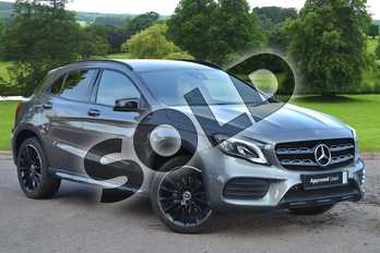Mercedes-Benz GLA GLA 220 CDI 4MATIC off-road vehicle in Mountain Grey Metallic at Mercedes-Benz of Grimsby